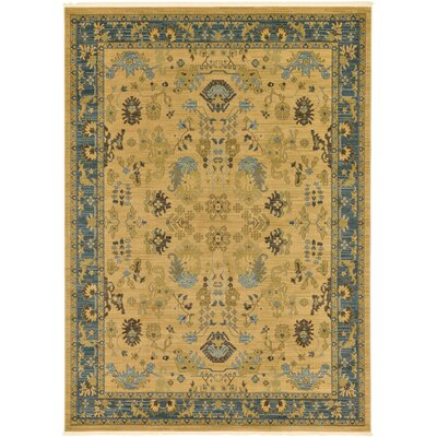 Fonciere Tan Area Rug Rug Size: Rectangle 8 x 112