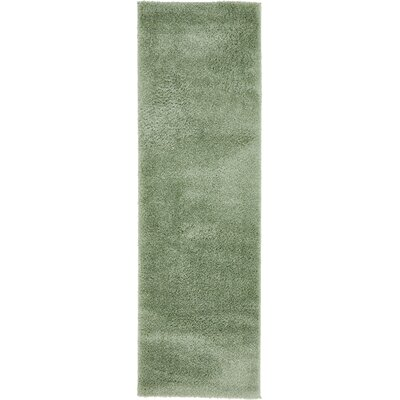 Korth Sage Green Area Rug Rug Size: Runner 2 x 67