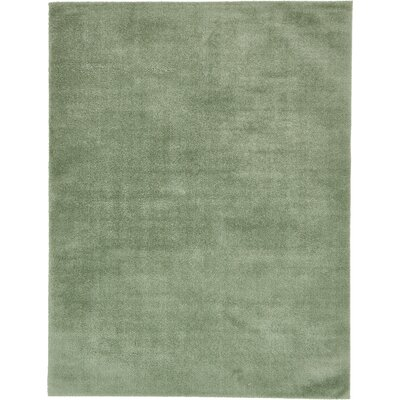 Korth Sage Green Area Rug Rug Size: Rectangle 9 x 12