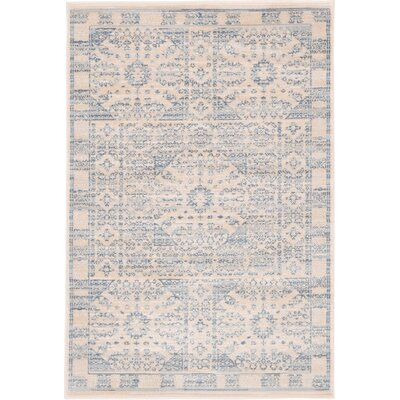 Plaisance Beige Area Rug Rug Size: Rectangle 2 x 3