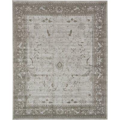 Shailene Light Gray Area Rug Rug Size: Rectangle 8 x 10