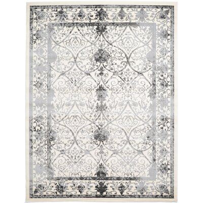 Shailene Ivory Area Rug Rug Size: Rectangle 9 x 12