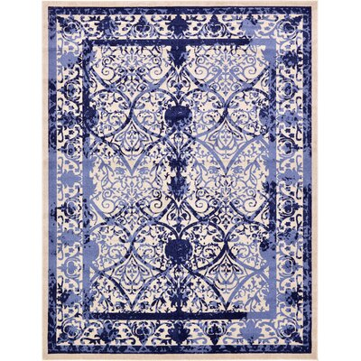 Chappel Blue Indoor/Outdoor Area Rug Rug Size: 10 x 13