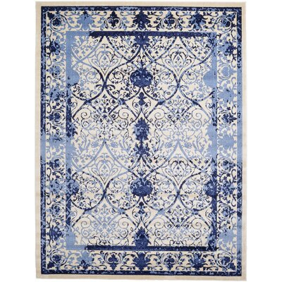 Chappel Blue Indoor/Outdoor Area Rug Rug Size: 9 x 12