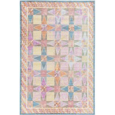 Rune Area Rug Rug Size: 5 x 8