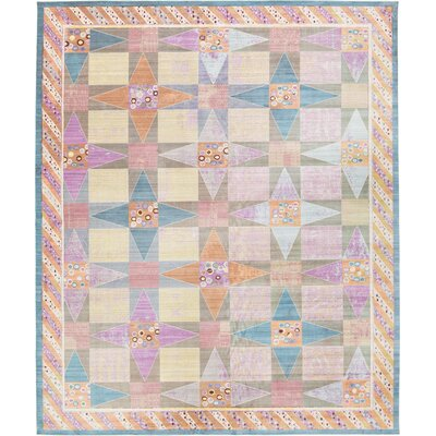 Rune Area Rug Rug Size: Rectangle 6 x 9