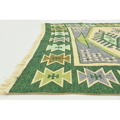 Izidora Rectangle Cream Southwestern Area Rug Rug Size: 67 x 97