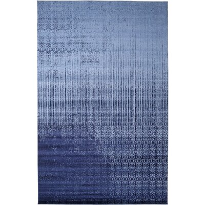 Dungan Blue Area Rug Rug Size: Rectangle 10 x 16