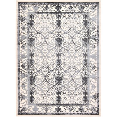 Lisbon Ivory Area Rug Rug Size: Rectangle 13 x 18