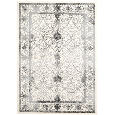 Shailene Ivory Area Rug Rug Size: Rectangle 7 x 10