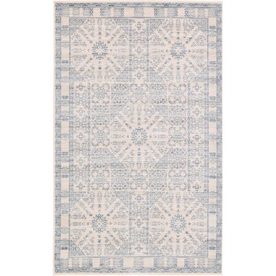 Mellal Beige Area Rug Rug Size: Rectangle 3 x 5