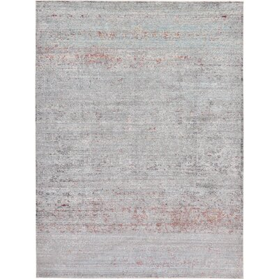 Danbury Gray Area Rug Rug Size: Rectangle 7 x 10
