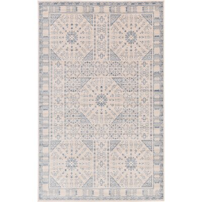 Mellal Beige Area Rug Rug Size: Rectangle 5 x 8