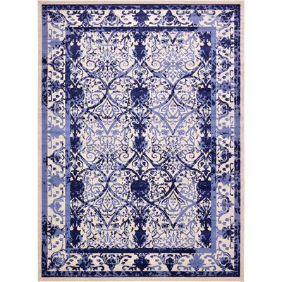 Chappel Blue Indoor/Outdoor Area Rug Rug Size: 13 x 18