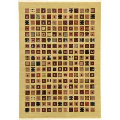 Soriano Beige Area Rug Rug Size: Rectangle 7 x 10