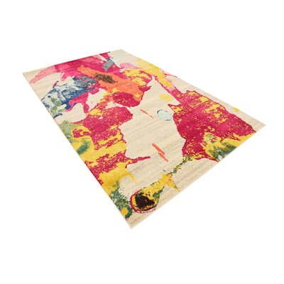 Fujii Area Rug Rug Size: Rectangle 5 x 8