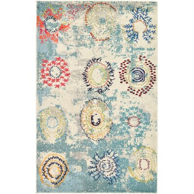 Killington Blue Area Rug Rug Size: Rectangle 33 x 53