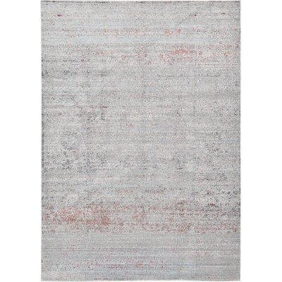 Danbury Gray Area Rug Rug Size: Rectangle 6 x 9