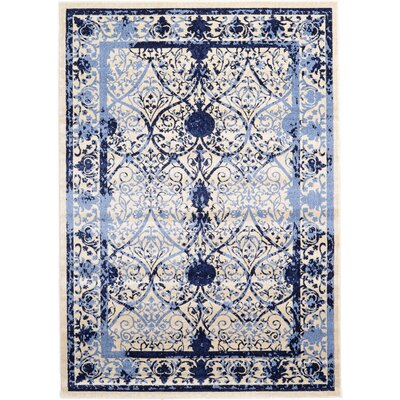 Chappel Blue Indoor/Outdoor Area Rug Rug Size: 7 x 10