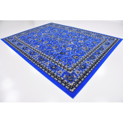 Essehoul Dark Blue Area Rug Rug Size: Rectangle 9 x 12