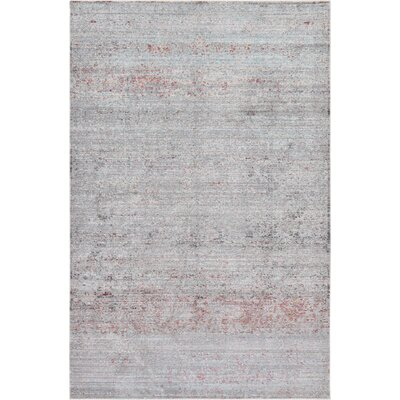 Bradford Gray Area Rug Rug Size: Rectangle 5 x 8