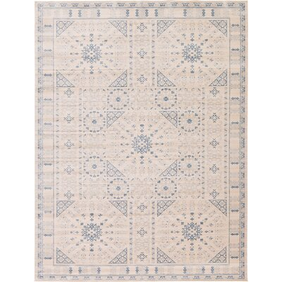 Plaisance Beige Area Rug Rug Size: Rectangle 12 x 16