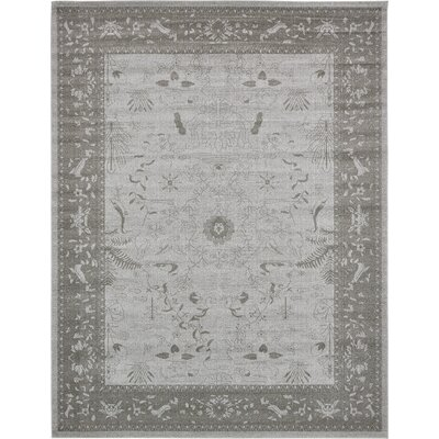 Shailene Light Gray Area Rug Rug Size: Rectangle 10 x 13
