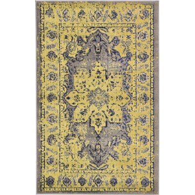 Killington Gray Area Rug Rug Size: Rectangle 33 x 53