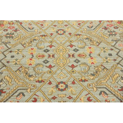 Sina Light Blue Area Rug Rug Size: Rectangle 411 x 8