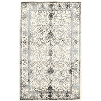 Lisbon Ivory Area Rug Rug Size: Rectangle 33 x 53