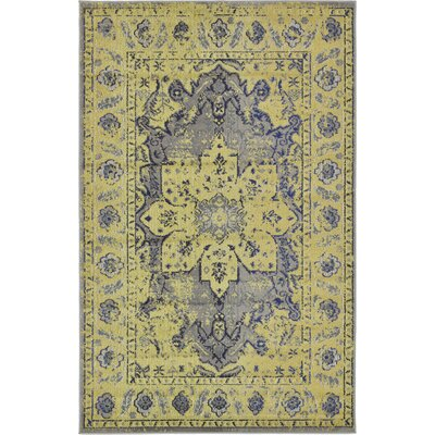Killington Gray Area Rug Rug Size: Rectangle 5 x 8