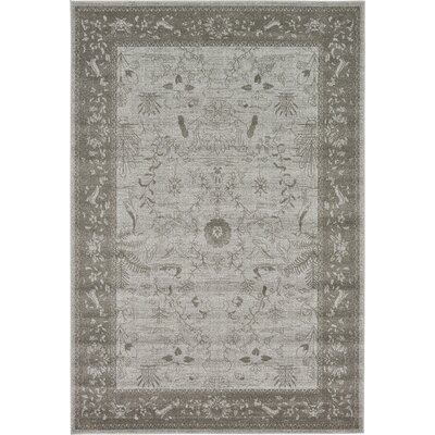 Shailene Light Gray Area Rug Rug Size: Rectangle 6 x 9
