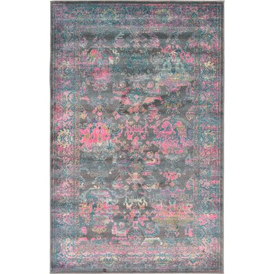 Charlena Area Rug Rug Size: Rectangle 5 x 8