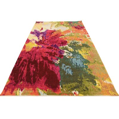 Fujii Area Rug Rug Size: 106 x 165