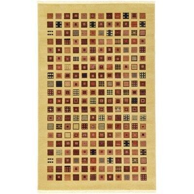 Soriano Beige Area Rug Rug Size: Rectangle 5 x 8