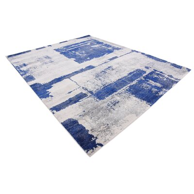 Madill Navy Blue Area Rug Rug Size: Rectangle 8 x 10
