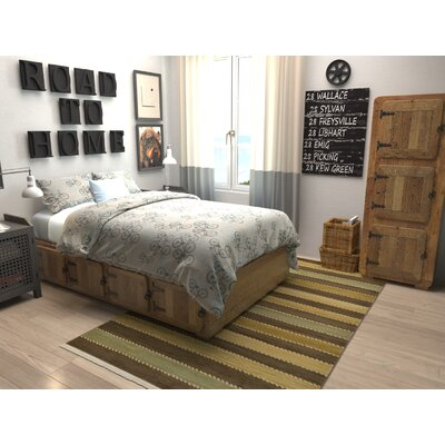 Langham Brown Area Rug Rug Size: Rectangle 5 x 8
