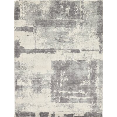 Luxton Ivory Area Rug Rug Size: Rectangle 4 x 6
