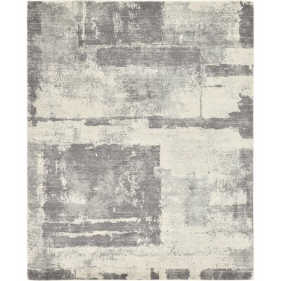Luxton Ivory Area Rug Rug Size: Rectangle 8 x 10