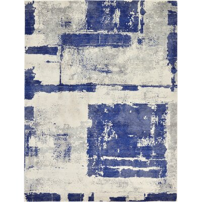 Madill Navy Blue Area Rug Rug Size: Rectangle 9 x 12