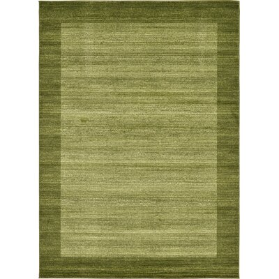 Napoli Green Area Rug Rug Size: Rectangle 7 x 10