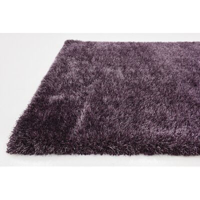 Evelyn Fig Purple Area Rug Rug Size: Square 8
