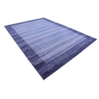 Christi Blue Area Rug Rug Size: Rectangle 7 x 10