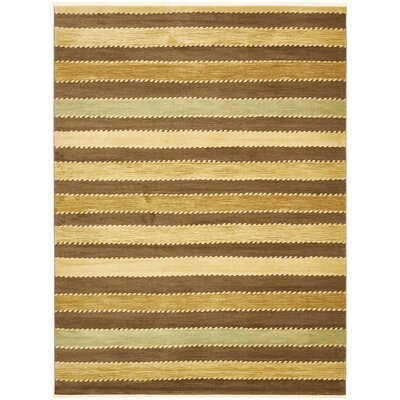 Langham Brown Area Rug Rug Size: 16 x 16