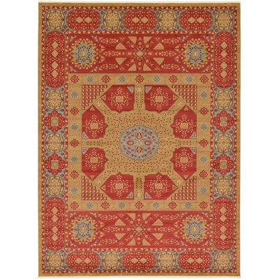 Laurelwood Red Area Rug Rug Size: 13 x 18