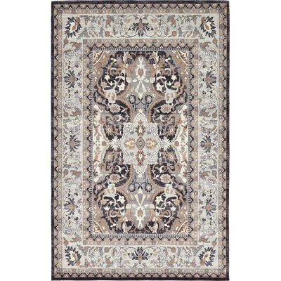 Sheppard Charcoal Area Rug Rug Size: 9 x 12