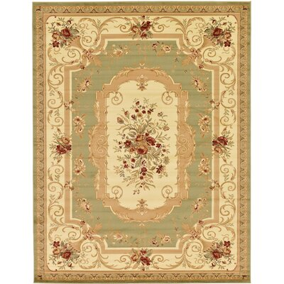 Patton Green Area Rug Rug Size: 10 x 13