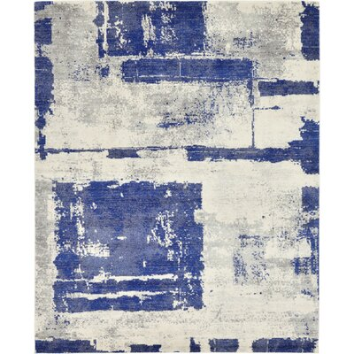 Madill Navy Blue Area Rug Rug Size: 8' x 10'