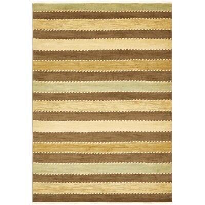 Langham Brown Area Rug Rug Size: Rectangle 2'2