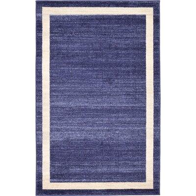 Christi Blue/Beige Area Rug Rug Size: 33 x 53
